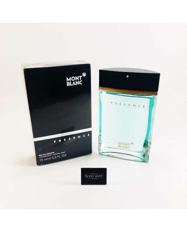 Presence by Mont Blanc (New in Box) 75ml Eau De Toilette Spray (Men)
