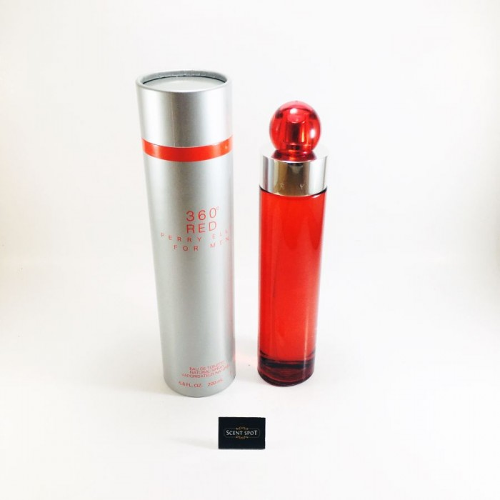 360 Red by Perry Ellis (New in Box) 200ml Eau De Toilette Spray (Men)