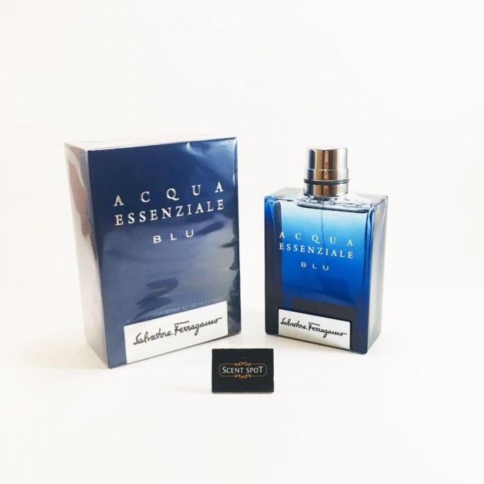 Acqua Essenziale Blu by Salvatore Ferragamo (New in Box) 100ml Eau De Toilette Spray (Men)