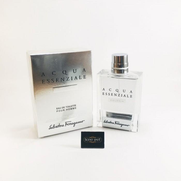 Acqua Essenziale Colonia by Salvatore Ferragamo (New in Box) 100ml Eau De Toilette Spray (Men)