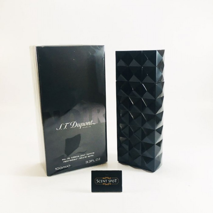 ST Dupont Noir by ST Dupont (New in Box) 100ml Eau De Toilette Spray (Men)
