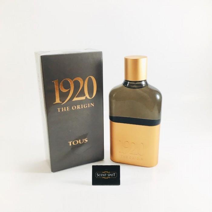1920 The Origin by Tous (New in Box) 100ml Eau De Parfum Spray (Men)