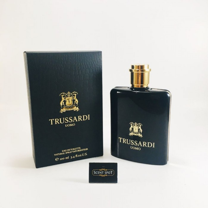 Uomo by Trussardi (New in Box) 100ml Eau De Toilette Spray (Men)