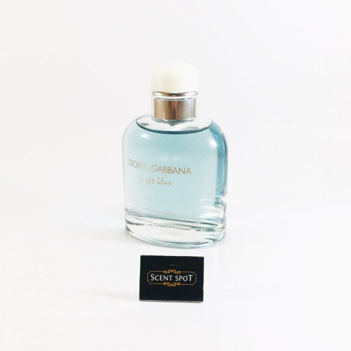 Light Blue Swimming In Lipari by Dolce & Gabbana (Tester) 125ml Eau De Toilette Spray (Men)