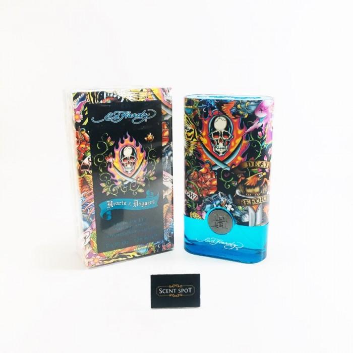 Ed Hardy Hearts & Daggers by Christian Audigier (New in Box) 100ml Eau De Toilette Spray (Men)