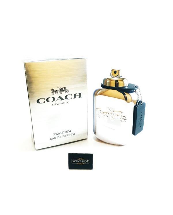 Coach Platinum by Coach (New in Box) 100ml Eau De Parfum Spray (Men)