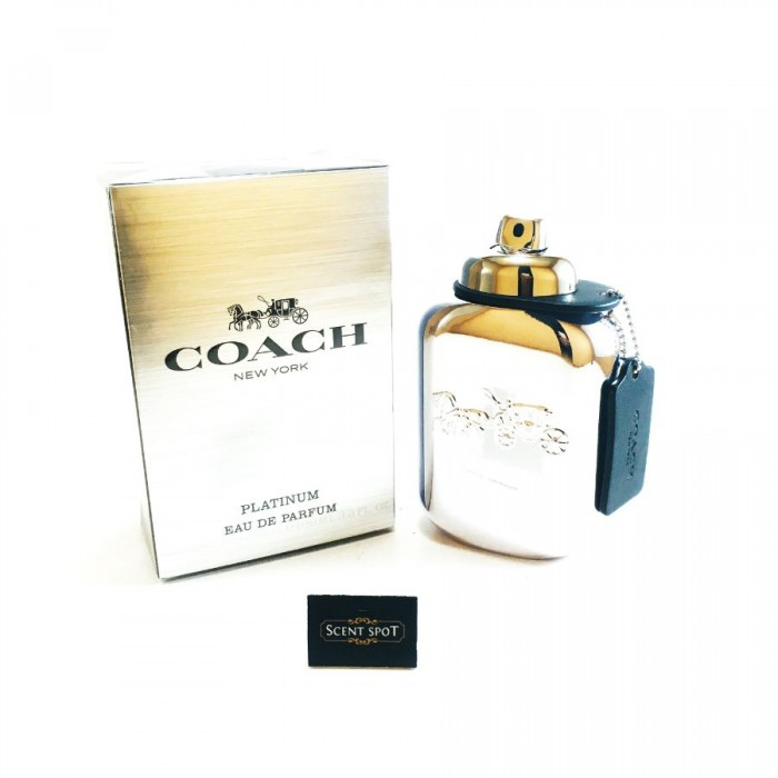 Coach Platinum by Coach (New in Box) 100ml Eau De Parfum Spray (Men)