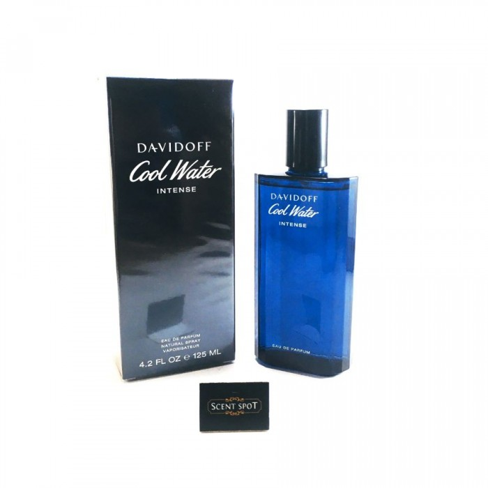 Cool Water Intense by Davidoff (New in Box) 125ml Eau De Parfum Spray (Men)