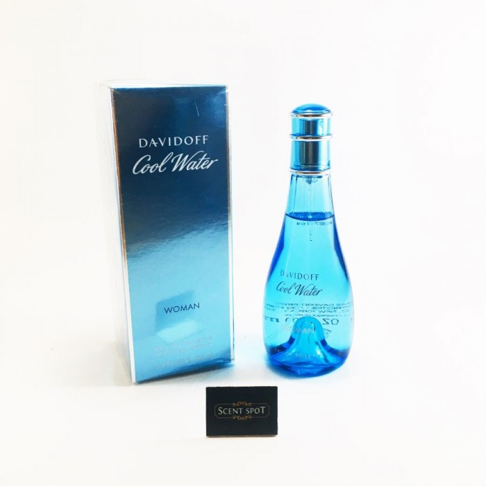 Cool Water by Davidoff (New in Box) 100ml Eau De Toilette Spray (Women)