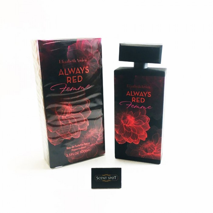 Always Red Femme by Elizabeth Arden (New in Box) 100ml Eau De Toilette Spray (Women)