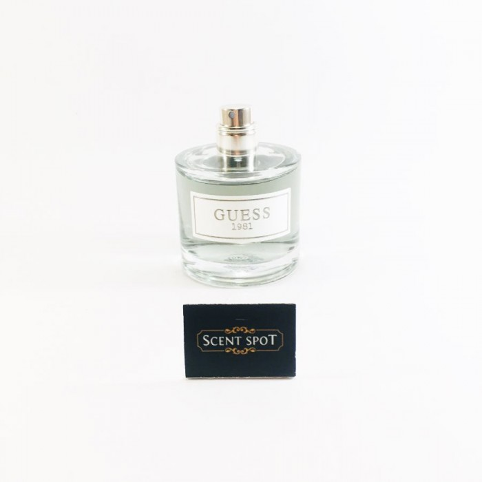 Guess 1981 by Guess (Tester) 50ml Eau De Toilette Spray (Men)