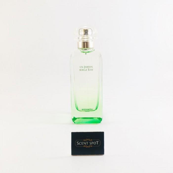 Un Jardin Sur Le Toit by Hermes (Tester) 100ml Eau De Toilette Spray (Unisex)