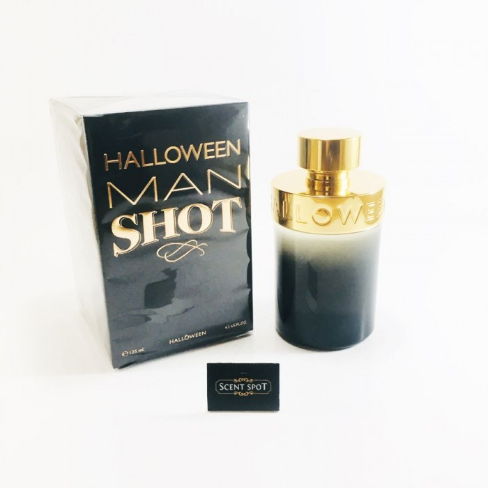 Halloween Man Shot by Jesus Del Pozo (New in Box) 125ml Eau De Toilette Spray (Men)