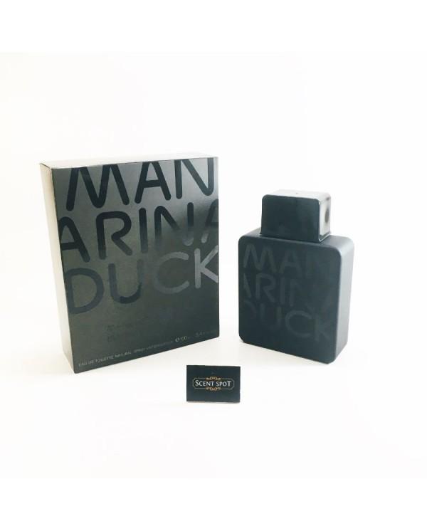 Duck Black by Mandarina Duck (New in Box) 100ml Eau De Toilette Spray (Men)