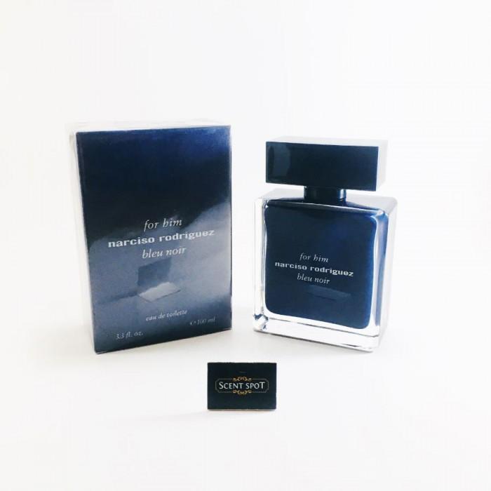 Narciso Rodriguez Bleu Noir by Narciso Rodriguez (New in Box) 100ml Eau De Toilette Spray (Men)