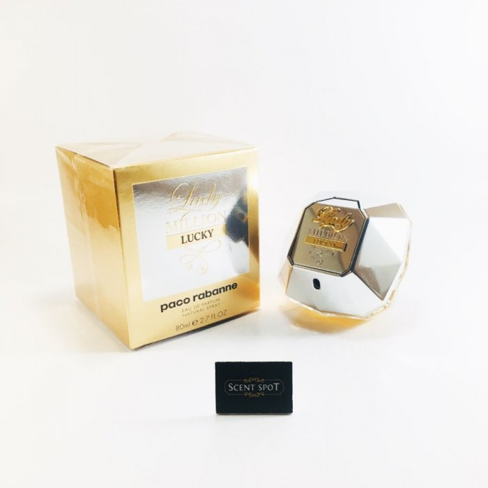 Lady Million Lucky by Paco Rabanne (New in Box) 80ml Eau De Parfum Spray (Women)