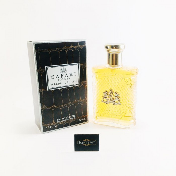 Safari by Ralph Lauren (New in Box) 125ml Eau De Toilette Spray (Men)