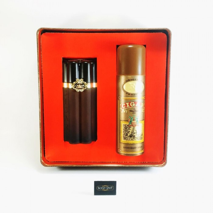 Cigar by Remy Latour (Gift Set) - 100 ml Eau De Toilette Spray + 196 ml Deodorant (Men)
