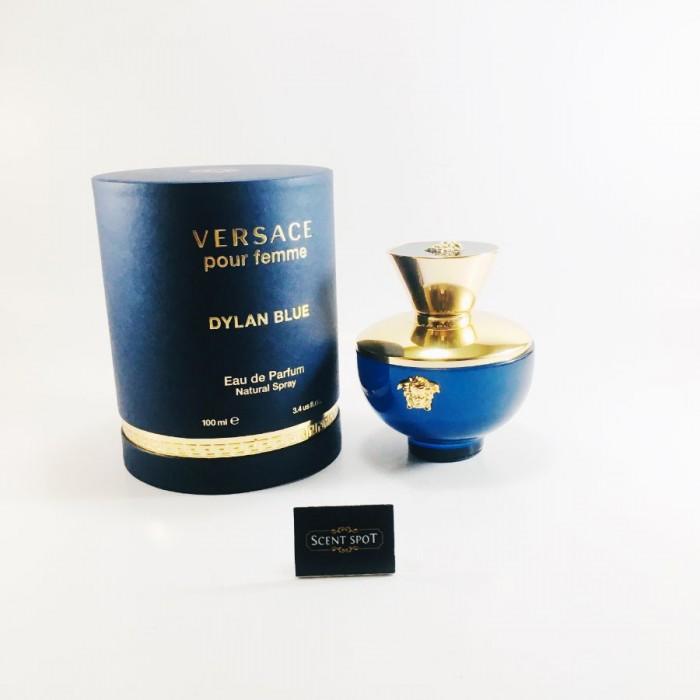 Dylan Blue by Versace (New in Box) 100ml Eau De Parfum Spray (Women)