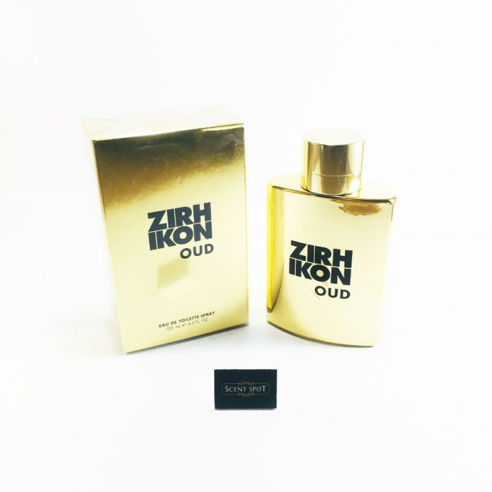 Zirh Ikon Oud by Zirh (New in Box) 125ml Eau De Toilette Spray (Men)