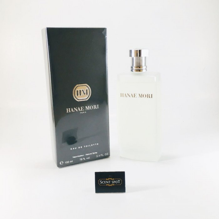 Hanae Mori by Hanae Mori (New in Box) 100ml Eau De Toilette Spray (Men)