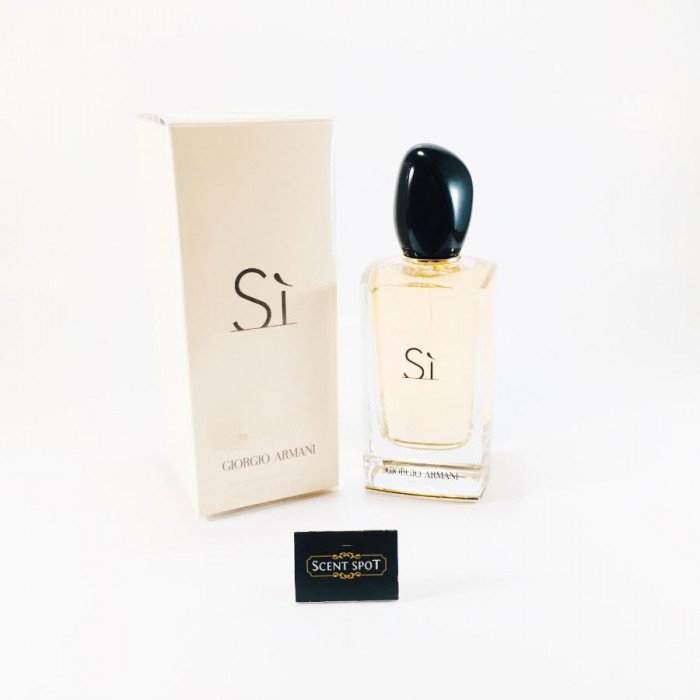 Armani Si by Giorgio Armani (New in Box) 100ml Eau De Parfum Spray (Women)