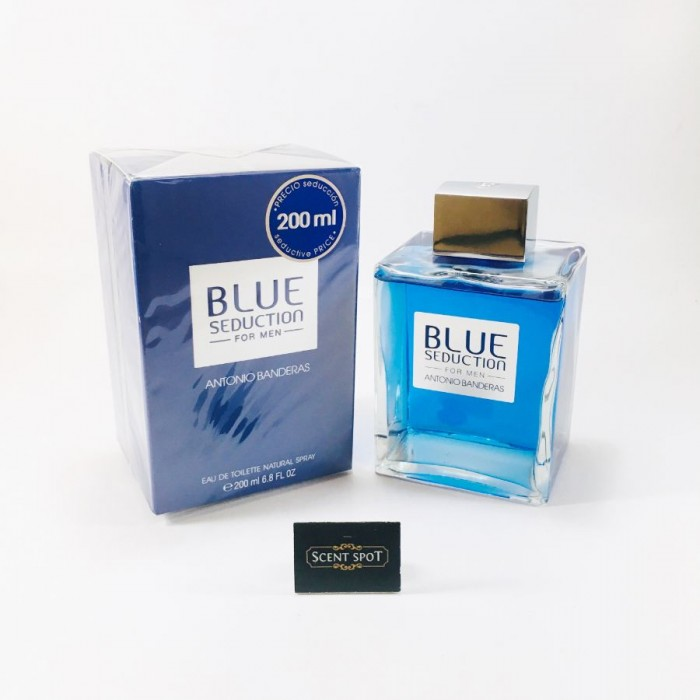 Blue Seduction by Antonio Banderas (New in Box) 200ml Eau De Toilette Spray (Men)