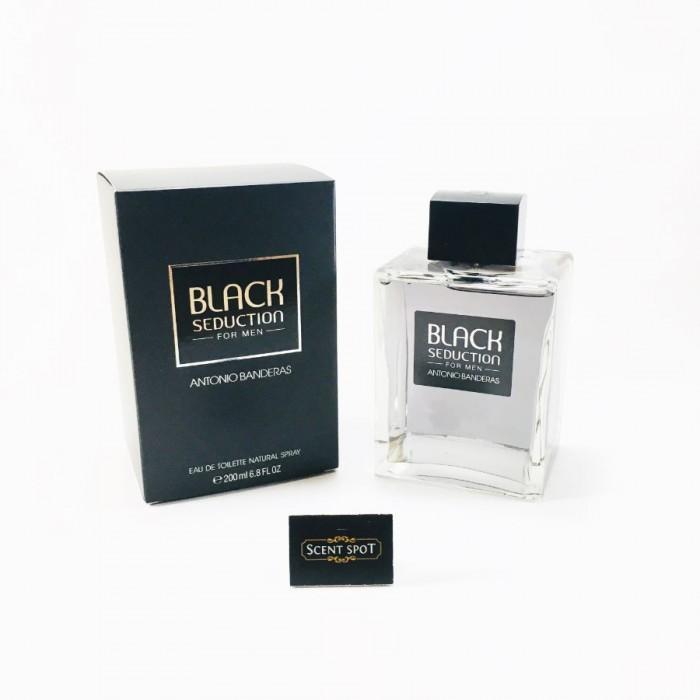 Seduction In Black by Antonio Banderas (New in Box) 200ml Eau De Toilette Spray (Men)