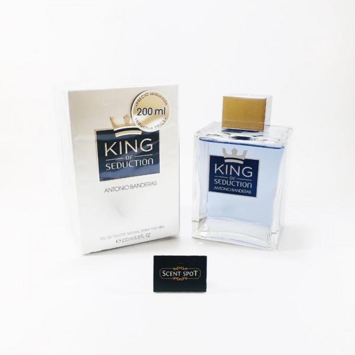 King Of Seduction by Antonio Banderas (New in Box) 200ml Eau De Toilette Spray (Men)
