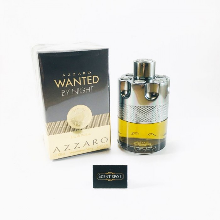Wanted By Night by Azzaro (New in Box) 100ml Eau De Parfum Spray (Men)