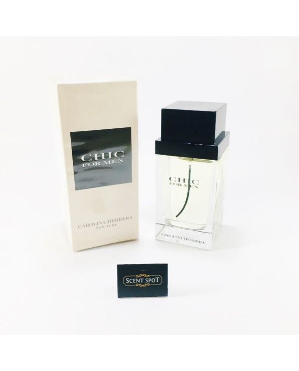 Chic for Men by Carolina Herrera (New in Box) 100ml Eau De Toilette Spray (Men)