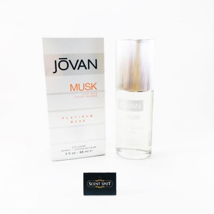 Platinum Musk by Jovan (New in Box) 90ml Eau De Cologne Spray (Men)