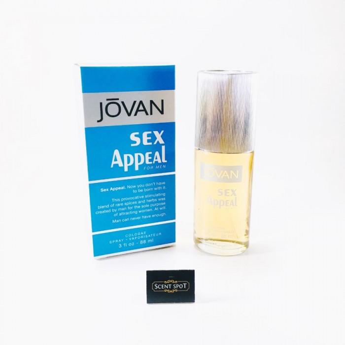 Sex Appeal by Jovan (New in Box) 90ml Eau De Cologne Spray (Men)