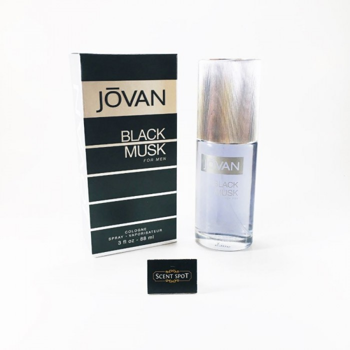 Black Musk by Jovan (New in Box) 90ml Eau De Cologne Spray (Men)