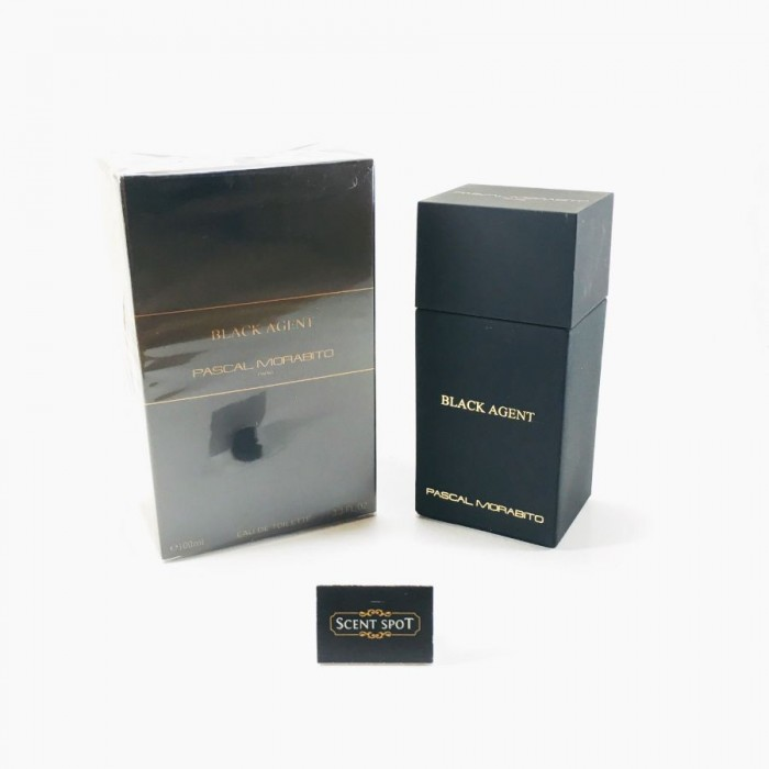 Black Agent by Pascal Morabito (New in Box) 100ml Eau De Toilette Spray (Men)