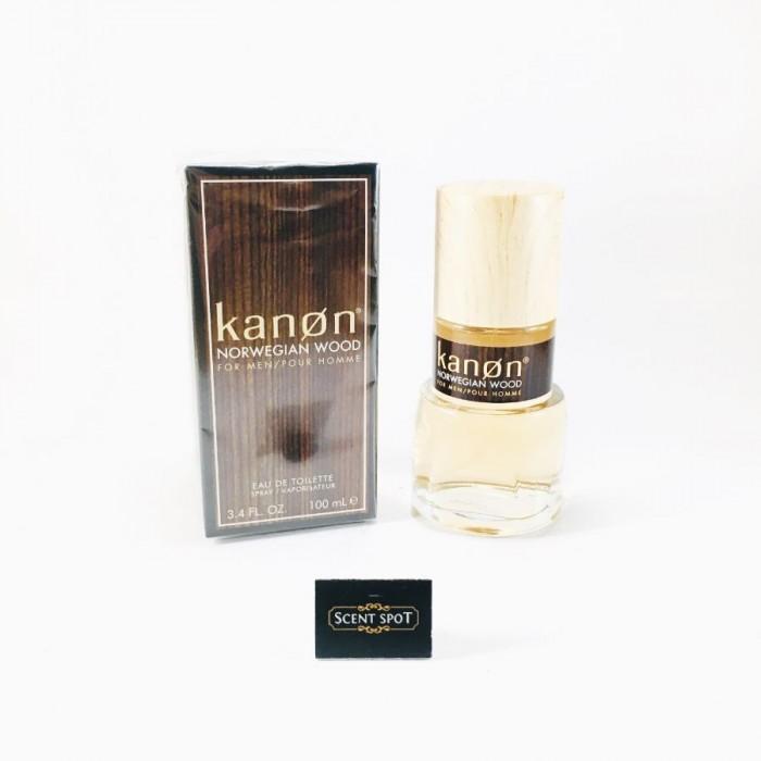 Norwegian Wood by Kanon (New in Box) 100ml Eau De Toilette Spray (Men)