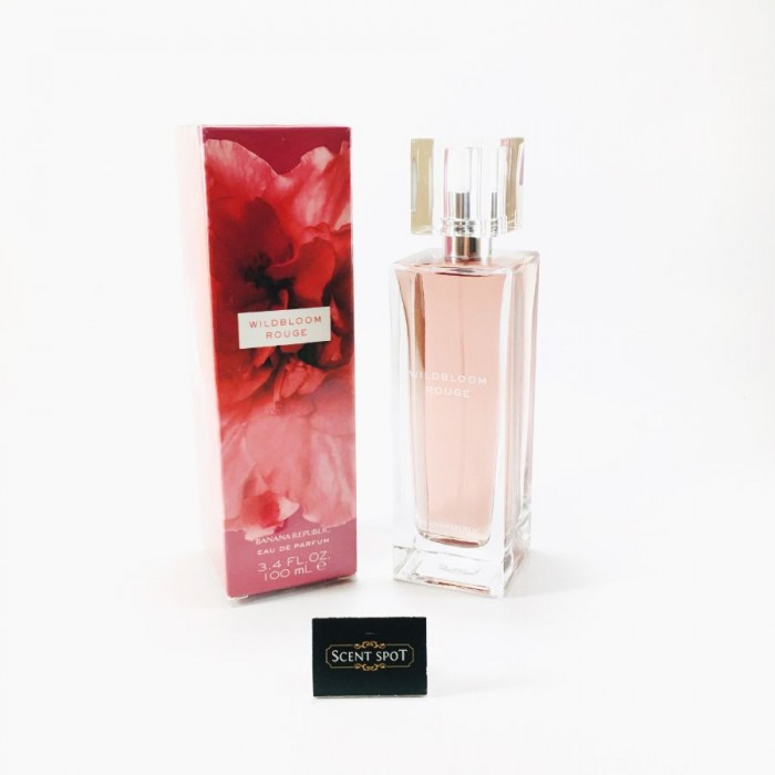 Wildbloom Rouge by Banana Republic (New in Box) 100ml Eau De Parfum Spray (Women)
