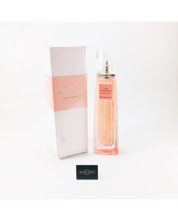 Live Irresistible by Givenchy (New in Box) 75ml Eau De Parfum Spray (Women)