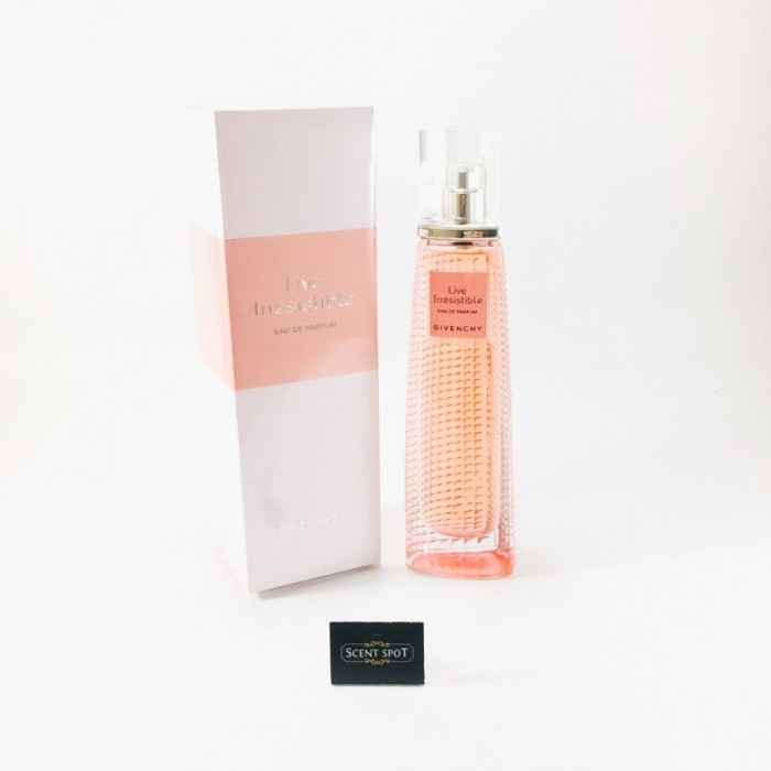 Live Irresistible by Givenchy (New in Box) 75ml Eau De Parfum Spray (Women)