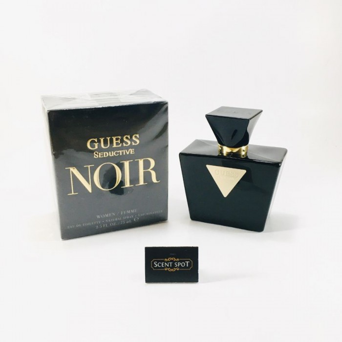 Seductive Noir by Guess (New in Box) 75ml Eau De Toilette Spray (Women)