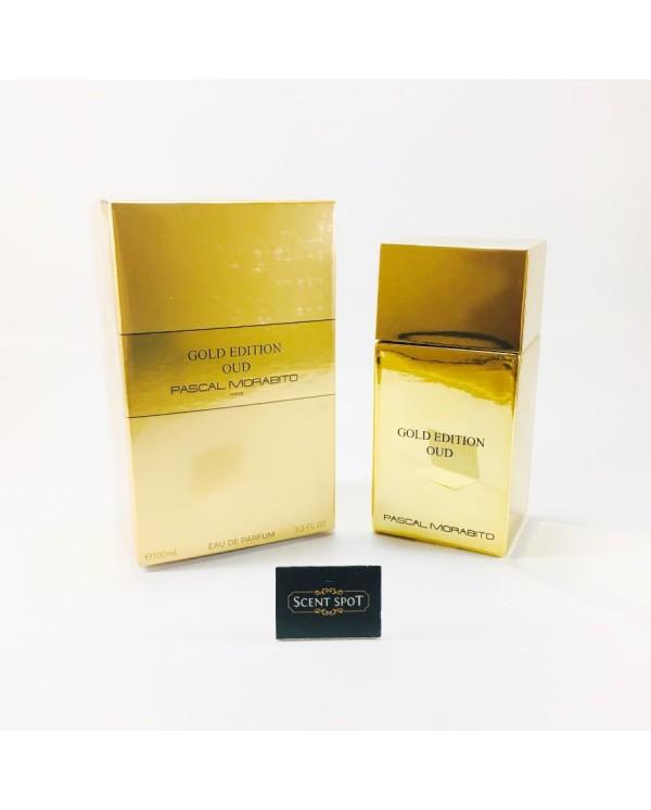 Gold Edition Oud by Pascal Morabito (New in Box) 100ml Eau De Parfum Spray (Unisex)