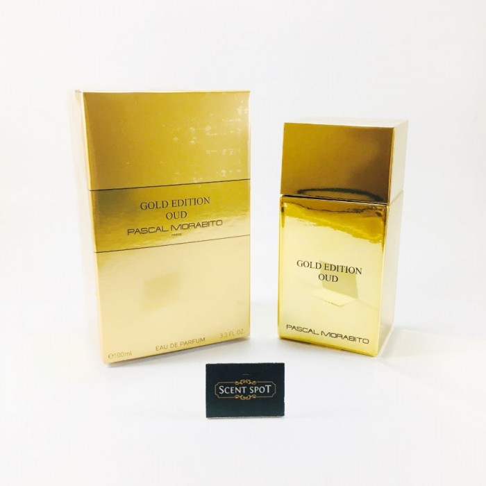 Gold Edition Oud by Pascal Morabito (New in Box) 100ml Eau De Parfum Spray (Unisex)