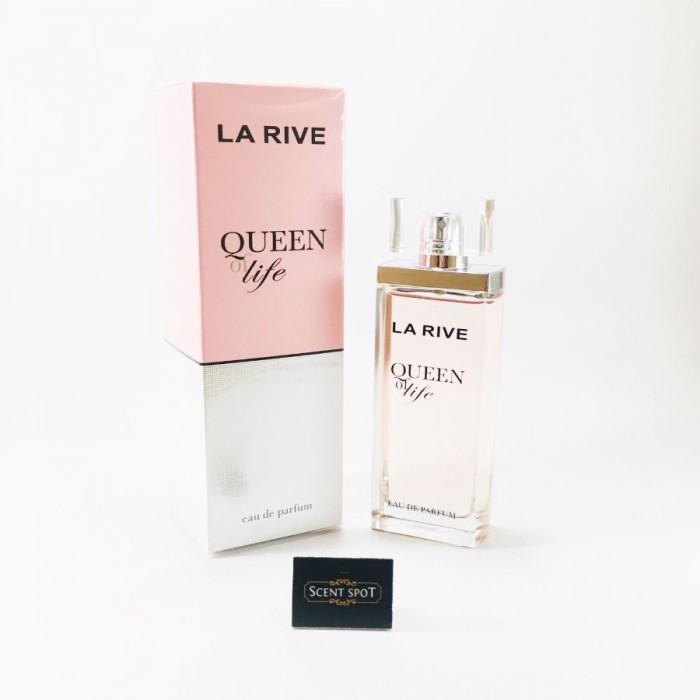 Queen Of Life by La Rive (New in Box) 75ml Eau De Parfum Spray (Women)