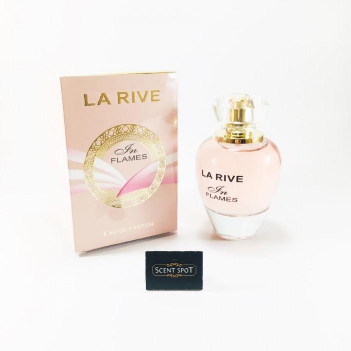 In Flames by La Rive (New in Box) 90ml Eau De Parfum Spray (Women)