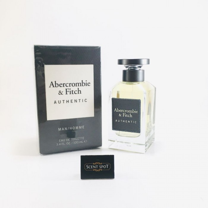 Authentic by Abercrombie & Fitch (New in Box) 100ml Eau De Toilette Spray (Men)