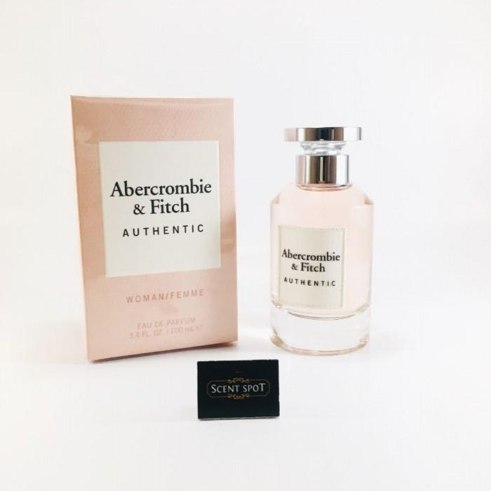 Authentic by Abercrombie & Fitch (New in Box) 100ml Eau De Parfum Spray (Women)