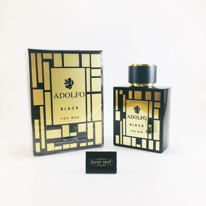 Black by Adolfo (New in Box) 100ml Eau De Toilette Spray (Men)