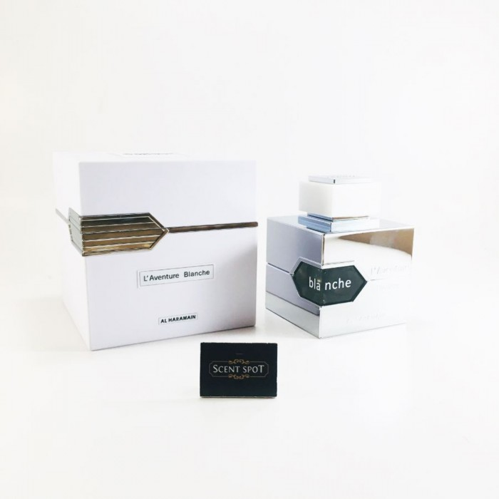 L'aventure Blanche by Al Haramain (New in Box) 100ml Eau De Parfum Spray (Unisex)