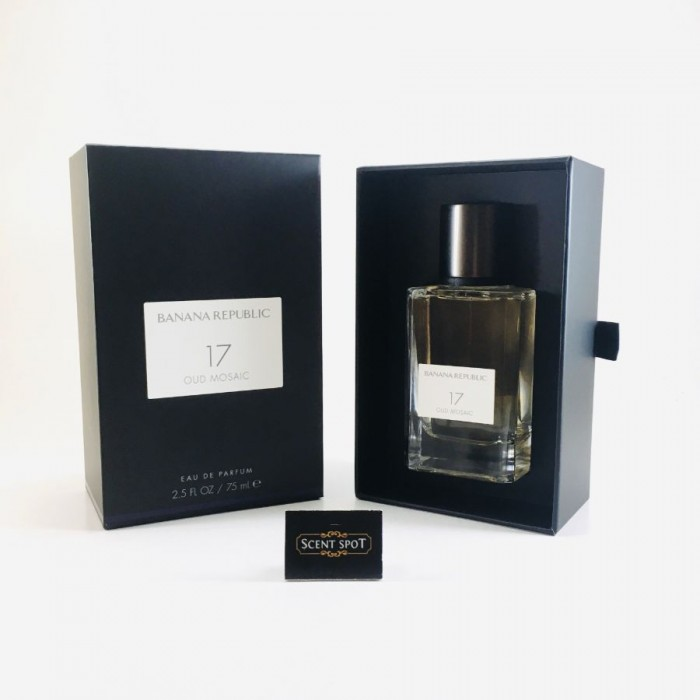 17 Oud Mosaic by Banana Republic (New in Box) 75ml Eau De Parfum Spray (Unisex)