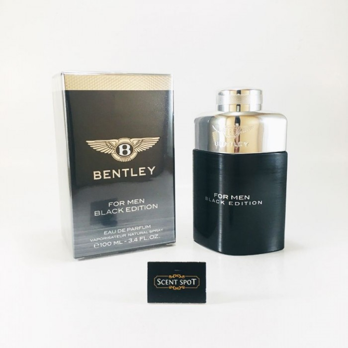 Black Edition by Bentley (New in Box) 100ml Eau De Parfum Spray (Men)